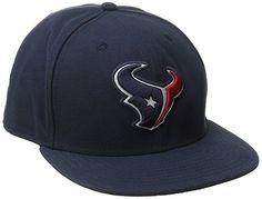 NFL Men s Houston Texans On Field 5950 Navy Game Cap By New Era Medium 7