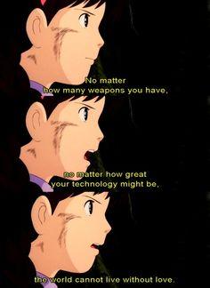 6 life lessons 'Studio Ghibli' taught us - Page 2 of 2 - Fantasy Film Daily Studio Ghibli Quotes, Studio Ghibli Art, Studio Ghibli Movies, Hayao Miyazaki, Saiunkoku Monogatari, Howl's Moving Castle, Gekkan Shoujo, Castle In The Sky, Fantasy Films