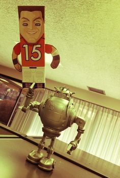 Jerod Clark used my robot to create this demonstration of Tebow's disposal in Denver if Peyton arrives.