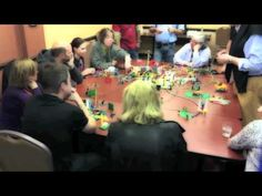 A Lego Serious Play meeting. Different!