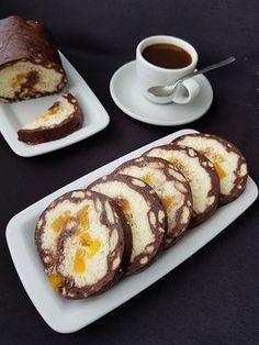 Rulada de Biscuiti cu Mascaporne Sweets Recipes, Easy Desserts, Cake Recipes, Snack Recipes, Cooking Recipes, Snacks, Romanian Desserts, Romanian Food, Best Pasta Recipes