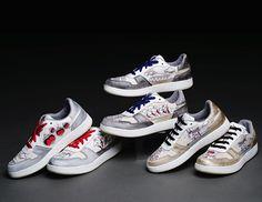 Artist Sergio Lazo x Kruzin Footwear