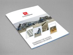 Brochure Design for RS Enterprises done by Brochure Mania- Brochure Designing Company in Chennai