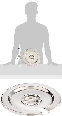 Thunder Group SLIP007 Inset Pan Cover, 7-Quart