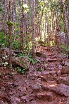 Take a quick hike up the Royal Arch Trail in Boulder Colorado and be rewarded with excellent views.