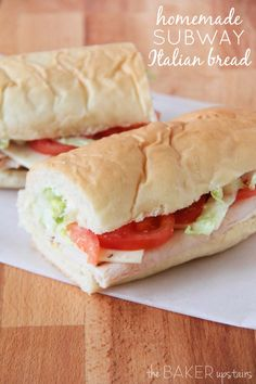Homemade Subway Ital