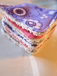 I so want to make these!! --> How to make Reusable Makeup Remover Pads