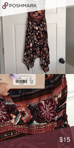 Strapless Dress | Southwestern, Tribal, Aztec Brand new with tags. Never worn, so cute! Fits sizes 0-4 Francesca's Collections Dresses Strapless