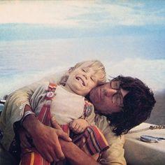 Keith Richards & his son Marlon