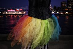 Rainbow Tutu. Need to make for the Color Run!