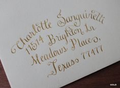 Hand-Lettered Modern Calligraphy