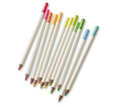 Fluorescent Colored Pencil Set