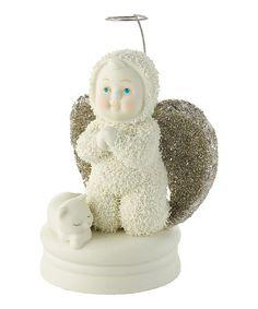 Look what I found on #zulily! Goodnight Prayers Angel Figurine by Snowbabies #zulilyfinds