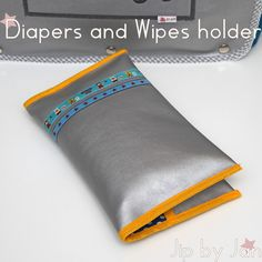 Tutorial Diapers and wipes holder Jip by Jan Sewing project | Luieretui DIY zelf maken Jip by Jan Tutorial in English and Dutch