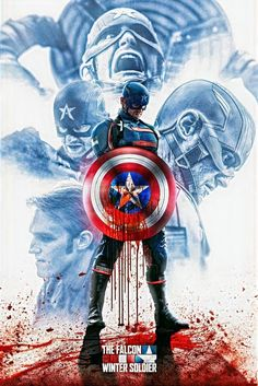 #John Walker New Captain America HD Wallpaper
