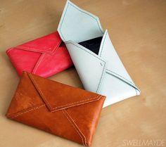 DIY stocking stuffer: leather phone case