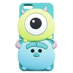 Cute Cartoon Soft Silicone Skin Case Cover for inch) Creative Iphone Cases Accessories- ByGoods. Cool Iphone Cases, Iphone 6 Plus Case, Cute Phone Cases, Iphone Phone Cases, Iphone 8, Mobiles, Ipod 5, Disney Phone Cases, Accessoires Iphone