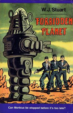 Decent novelization of the classic sci fi movie. A must read for fans of the film. Great Sci Fi Movies, Classic Sci Fi Movies, Sf Movies, Fiction Movies, Pulp Fiction, Science Fiction, Planet Movie, Robby The Robot, Fantasy Films
