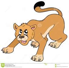 Image result for cartoon wildcats about to pounce