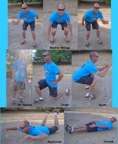 Courtesy of the Aloha City Rollers - This is Handsome, who created this challenge, demonstrating the 10-20-30-40-50-100 challenge exercises.