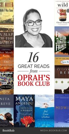 Books Recommended by Oprah Looking for a new book club idea? Check out these past reads from Oprah's Book Club.Looking for a new book club idea? Check out these past reads from Oprah's Book Club. Book Club Reads, Book Club Books, Book Nerd, Book Lists, New Books, Good Books, Oprah Book Club List, Reading Lists, Book Clubs