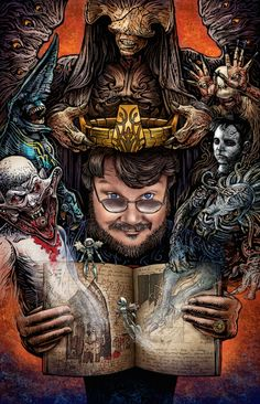 This Guillermo del Toro Art Show Is As Crazy As the Director Himself