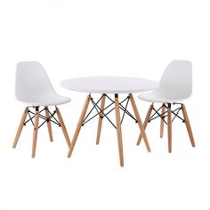 Modern Kids Table And Chairs Kid Spaces Playroom