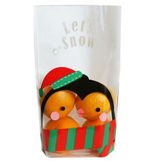 Penguin Printed Poly Bags. Useful cellophane bags for christmas cookies, gift. Christmas gift ideas.