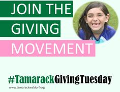 """""""We make a living by what we get. We make a life by what we give."""" – Winston Churchill #TamarackGivingTuesday #GivingTuesday"""