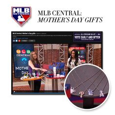 Thanks #MLBNetwork for the #MothersDay gifts rundown featuring our Little #MLB pieces, and debuting our newest MLB designs! #alexwoo #littleicons #putaminionit #baseball #wooplayball