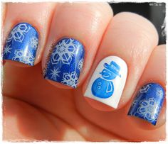 Winter Nails... Join the Nail Art Society - Discover the latest trends in Nail Art for only $19.95 a Month!