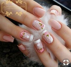 New Fabulous Free Winter Nail Art Ideas 2020 French Nails, Cute Nails, Pretty Nails, Hair And Nails, My Nails, Nagel Gel, Flower Nails, Beautiful Nail Art, Creative Nails