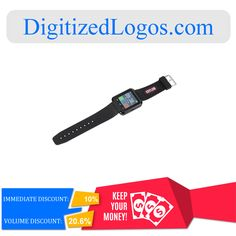Get the LED Smart Watch at only $28.33 instead of $31.48 plus more discount on volume purchase! Please visit Digitizedlogos.com for more information and inquiry.
