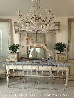 European design trends - I can't wait to change flat rooms. The Best of shabby chic in 2017.