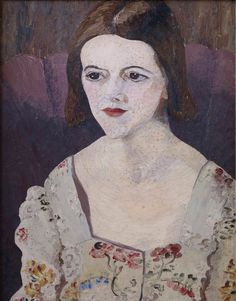Sir Cedric Morris: Barbara Hepworth, 1931SIR CEDRIC MORRIS BARBARA HEPWORTH, 1931