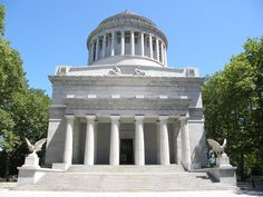 Grant's Tomb, is a mausoleum containing the bodies of Ulysses S. Grant (1822–1885), American Civil War General and 18th President of the United States, and his wife, Julia Dent Grant (1826–1902). The tomb complex is a presidential memorial in Manhattan in New York City.