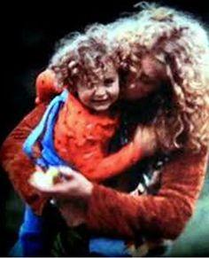 Robert Plant and his late son Karac Pendragon Plant