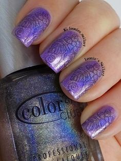 Leonie's Nailart: 30 minute manicure with Color Club Halo Hues