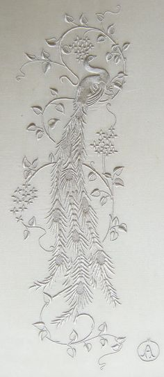 Brod'annie: ouvrages. Broderie blanche
