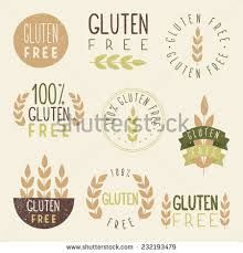 vintage style gluten free logo vector - Google Search