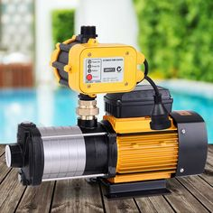 Giantz Multi Stage Water Pump Pressure Rain Tank Garden Farm House Irrigation 2500W  Only AUD$400.40!   When low water pressure gets you down, power it up with our Giantz 6-stage Water Pump. It is the perfect solution where constant on-demand water pressure is needed at the open and close of any tap. You will find our water pump particularly useful for homes, household gardens, farms, commercial entities or any situation where pressurised water is consistently required. The water pump featu