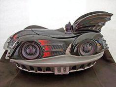 WARNER BROTHERS BATMAN BRUCE WAYNE'S BATMOBILE COOKIE JAR AUTO CAR 1997 RARE