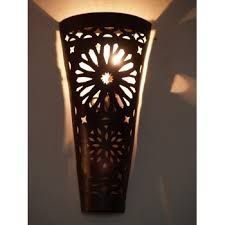 Image result for contemporary flush square wall lights moroccan