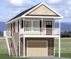 1000 images about houses on pinterest garage plans for 16x32 2 story house plans