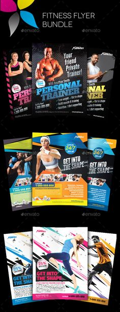 Fitness Flyer Event flyers, Font logo and Flyer template - fitness flyer