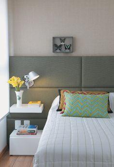 Ideias para decorar (e aproveitar) a parede da cabeceira - Casa