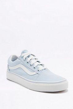 1786f7de85ec7a Vans Old Skool Baby Blue Trainers Blue Vans Shoes