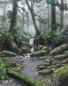 Somewhere In The Undergrowth by FrankAtt on DeviantArt