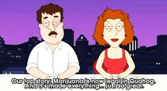 Family Guy } Legalize