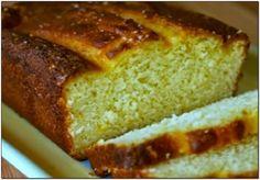 pão de inhame de liquidificador